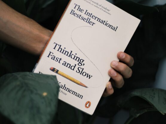 The International Bestseller Thinking Fast and Slow book